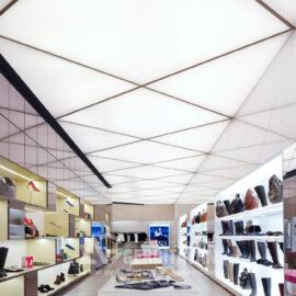 ışıklı doku gergi tavan. Sultanbeyli gergi tavan