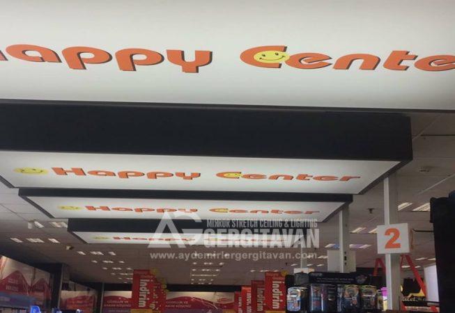 Happy Center gergi tavan uygulaması